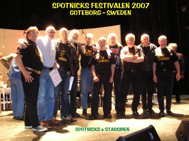 sweden : Starsmen and Spotnicks - Goteborg  2007